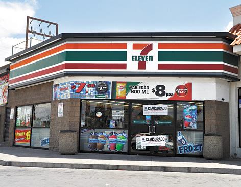 Japón Seven-Eleven O 7-Eleven De La Cadena De Tiendas De ...